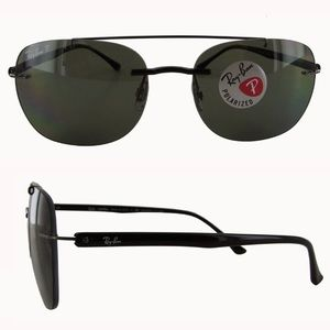 RAY BAN 'RB4280' LITEFORCE POLARIZED SUNGLASSES